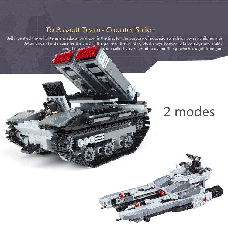 549pcs Marine Tank MILITARY Warship Navy Seals Team Creator SWAT World War Army Building Blocks figures Toys Children Boys Gifts<br>