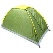 Camping Tent Single Layer Waterproof One Person Tent Beach Tent Outdoor Portable UV-resistant Camping Tent with Carry Bag(China)