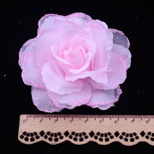 10pcs/lot Artificial Silk rose Wedding decoration artificial rose garland decoration DIY artificial flowers in real touch roses