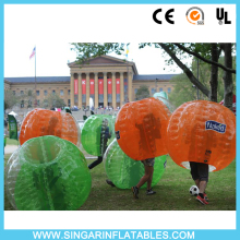 Free shipping 0.7mm TPU 1.2m diameter inflatable football,bubble soccer,bumper ball,rubber ball for kids