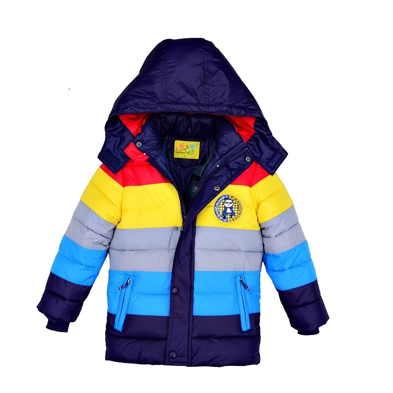 Retail New 2017 winter boys outerwear, boys coat, striped, children winter jacket, children outerwear &amp; coats 3 colors in stockОдежда и ак�е��уары<br><br><br>Aliexpress