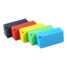 2016 New 1pcs Hot Worldwide Mini Boombox Wireless Bluetooth Speaker Microphone For Samsung For iPhone PC Promotion