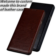 NC04 genuine leather flip case for Asus Zenfone AR ZS571KL phone case for Asus Zenfone AR leather case free shipping(China)