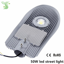 6pcs 50w street light 2018 new design IP65 100-110Lm/W AC85-265V outside lamp led street lamp for Roads, parks, playgrounds.(China)