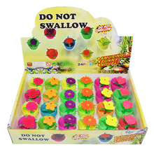 6pcs Magic trick Soil Water Potted EVA Simulate Plant fake flower Funny Amusing novel Toy Desktop Growing Toys for Children