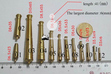 NEW Wooden sailing boat model brass cannon accessories(China)