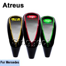 Atreus Gear Shift Knob Car-styling Touch Sensor LED Light Colourful 5/6 speed For Mercedes W211 W203 W204 W210 W205 W212 W220(China)