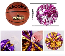 1pcs Metal cheerleading pom poms Cheerleaders