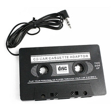 1Pc Universal Car Cassette Tape Stereo Adapter Tape Converter with 3.5mm Jack Plug For iPod CD Player *4