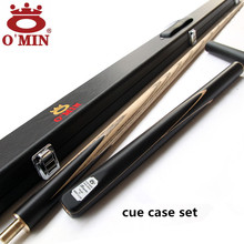 OMIN Snooker Cue, Model Assassin, Cue tip 9.5mm,11.5mm,Length 145cm, 3/4 Jointed cues, Handmade Billiard Stick,Free Shipping
