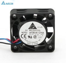 Delta AFB0412HA 4cm 40mm 4010 DC 12V 0.14A mini micro silent quiet computer server case cooler axial cooling fans