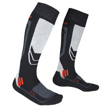 2017 New Winter Warm Men Thermal Ski Socks Thick Cotton Sports Snowboard Cycling Skiing Soccer Socks Thermosocks Leg Warmers sox(China)