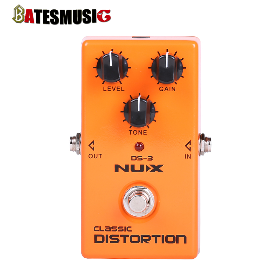 NUX  Stomp Boxes  Distortion/Overdrive DS-3 Classic Distortion True-Bypass<br><br>Aliexpress