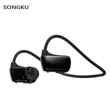 SONGKU HI-W273  Real 4GB Sports Mp3 Player Headset Running Earphone Mp3 Player Headphone Free shipping