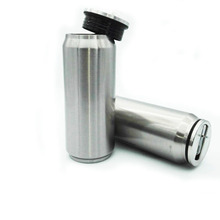 Mini car cups of Insulation coffee cup hand Stainless steel vacuum bottle 2017 fashion student sport cheap and accessible thermo(China)