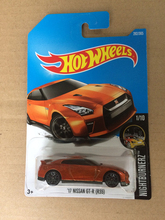 2017 N Hot Wheels 1:64 Orange 17th Nissan GT-R35 Metal Diecast Cars Collection Kids Toys Vehicle For Children Juguetes(China)