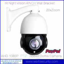CMOS 20X Optical ZOOM AHD 1080P Outdoor PTZ Speed Dome Camera 40-80m IR Night Vision,Weatherproof,Support mobile phone View