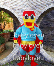 2017 new Real Pictures Deluxe Superman duck Mascot Costume Adult sized factory direct
