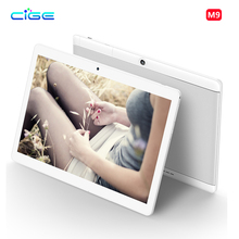 CIGE 10.1 inch 4G Octa Core Tablet Pc Phone Call card Android 6.0  WiFi GPS Tablet pcs 1920x1200 Tablets Ultra Slim Dual SIM