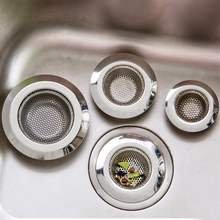 Stainless Steel Kitchen Sink Strainer Bathroom Toilet  Accessories  set Bathroom drain filter tools 11.5cm 9cm 7cm