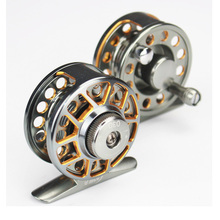 2016 New  Fly Fishing Reel Best Quality Aviation Aluminum All Metal Front End Raft Ice Reels With Drag 2+1BB Wheel