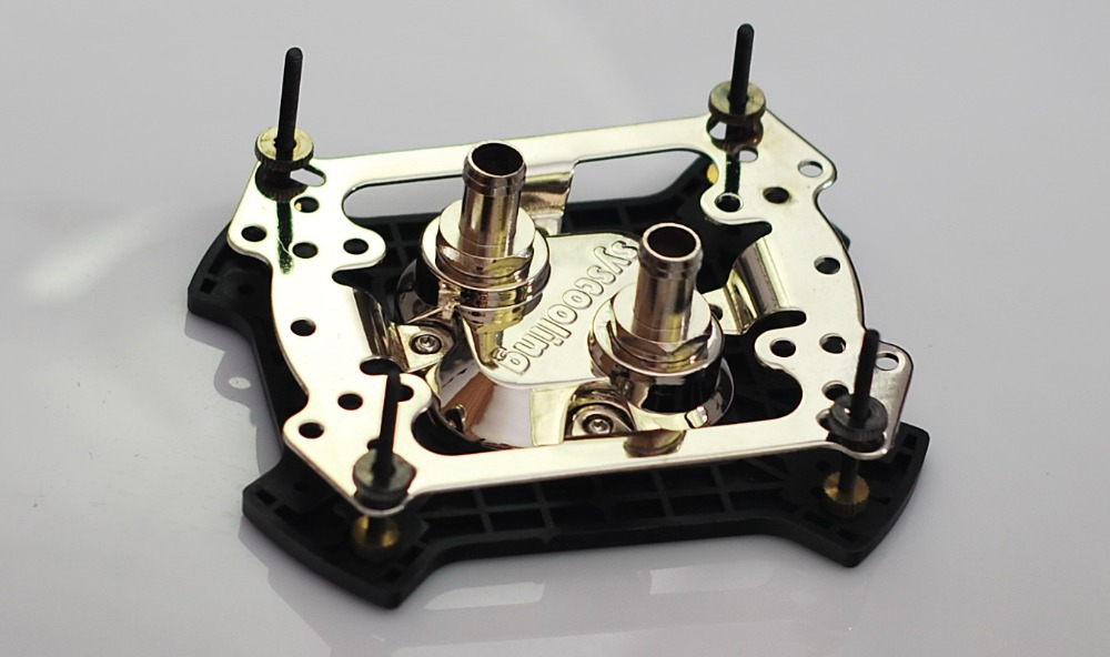 Highly cost effective Syscooling Universal CPU Waterblock For Intel LGA &amp; Support AMD series<br>