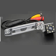 CCD LEDS HD Car Rear View Camera With 4 LED HD CCD Camera For KIA K3 Sportage R 2010 2011 2012 2013 2014