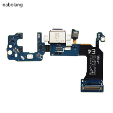 Nabolang USB Charger Flex Cable Charging Connector Dock Flex Cable replacement For Samsung Galaxy S8 G950F phone accessosary(China)