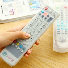 1Pc Hot Selling TV Remote Control Waterproof Dust Silicone Skin Protective Cover Case VBJ91(China)