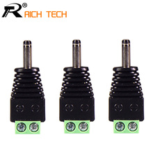DC 3.5x1.35mm terminal CCTV Video Balun Power Plug Terminals Connector ADAPTER 3pcs/lot