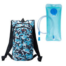 HOTSPEED Water Bag Oxford Cloth Cycling Backpack Unisex 43.5x21.5cm Outdoor Sports Back Pack with Drinking Water Bags