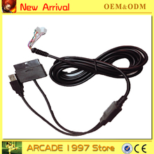 USB CABLE FOR PS2/PS3/PC/ XBOX360 pcb encoder USB Arcade Joystick USB Encoder BOARD