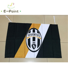 95cm*65cm Size Italy Juventus FC Christmas Decorations for Home Flag Gifts(China)