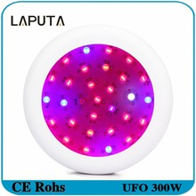1pcs UFO Led Grow Light 300W Full Spectrum Led Plant Growth Lamp Double Chips for Indoor Bloom Flowering Plants Grow Box
