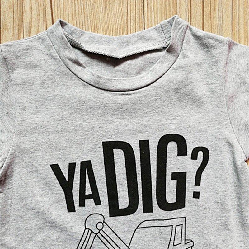 Toddler Boys Ya Dig T Shirt & Shorts Set 18