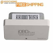 Xtool iobd2 Mini OBD2 EOBD iOS scanner and Android Mini iobd2 Bluetooth 4 free delivery(China)