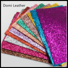 12 colors A4 Size Canvas backing color match glitter colors glitter fabric sheets(China)