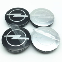 4pcs 56mm 59 60mm 65mm Opel wheel center hub cap cover emblem car styling Badge logo for Astra Mokka Insignia Zafira Corsa Tigra