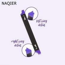 Vamp Stamp New Arrival Two Sides Eyeliner Stamp Pencil Waterproof Maquillaje Star Easy to Wear Makeup Eye liner Cosmetics Tools(China)