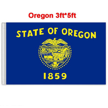 New fashion 90*150 cm Oregon flag United State American Banner Office/Activity/parade/Festival/Home Decoration(China)