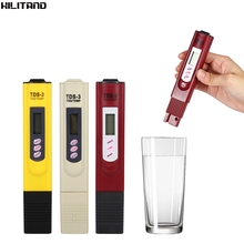 Digital TDS Meter Aquarium Pool Water Quality Testing Pen Water Purity Filter Accurate Monitor TDS Temp Meter(China)