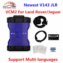 2017 Newest V143 VCM2 VCM II JLR VCMII For Land Rover/Jaguar OBD2 Vehicle Diagnostic Tool VCM 2 Scanner With Plastic Box(China)