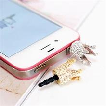 2pcs/lot High Quality Luxury Crown Earphone Dust Cap Plug Phone for xioami Universal Mobile Phone Earphone Jack