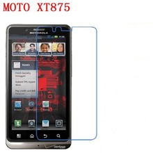 3 PCS HD phone film PE touch preserving eyesight for Motorola XT875 MOTO Droid Bionic screen protector +Wipe wipes