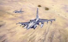 "F-16 Fighting Falcon Fighter Poster 21x13 "" Decor 33(China)"
