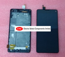 LCD Display + Touch Digitizer Screen glass  For ZTE Nubia Z5S mini NX403 NX403A with frame+tool  free shipping