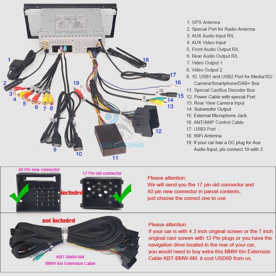 Car Gps Navigation Player For 5 Series E39 E53 X5 M5 Android 80 E24 Wiring Diagrams Es7339b Diagram