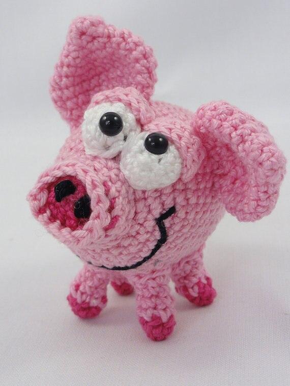 Amigurumi Crochet Schnitzel the Piglet<br><br>Aliexpress