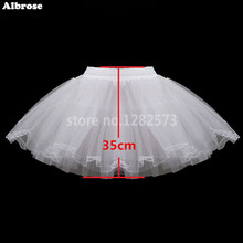In Stock Three Layers Lace Children Petticoat without Hoops Kid Crinoline For Flower Girl Dresses White Little Girl Petticoat