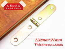 4pcs Roundtable Flap Hinge Folding Table Desk Accessories With Screws 120mm*21mm